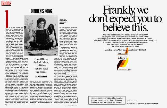 Article Preview: O'BRIEN'S SONG, November 1988 1988 | Vanity Fair