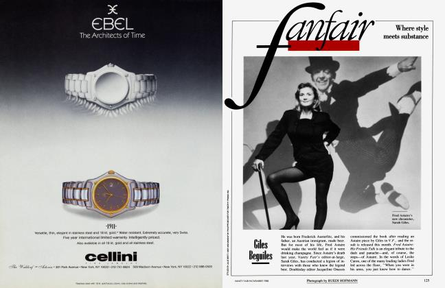 Article Preview: Giles Beguiles, November 1988 1988 | Vanity Fair