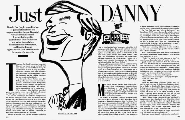 Article Preview: Just DANNY, November 1988 1988 | Vanity Fair