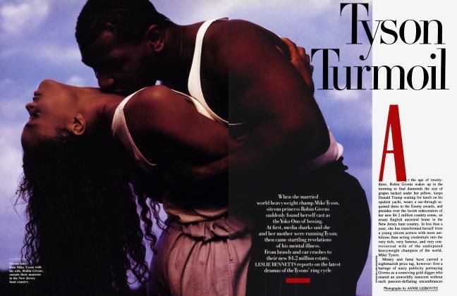 Article Preview: Tyson Turmoil, November 1988 | Vanity Fair