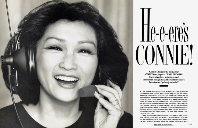 Article Preview: He-e-ere's CONNIE!, November 1988 | Vanity Fair