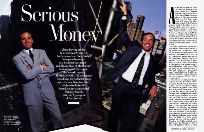 Article Preview: Serious Money, November 1988 | Vanity Fair