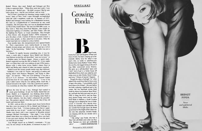 Article Preview: Growing Fonda, November 1988 1988 | Vanity Fair