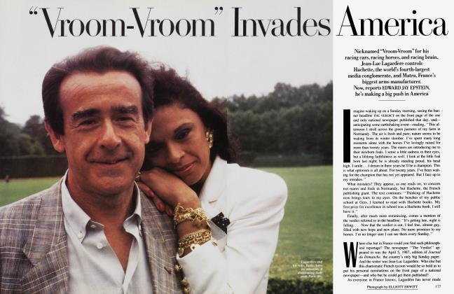 "Article Preview: ""Vroom-Vroom"" Invades America, November 1988 | Vanity Fair"