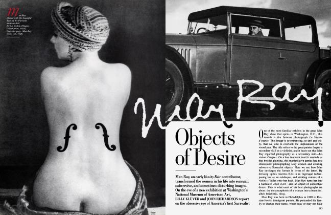 Article Preview: Man Ray Objects of Desire, December 1988 1988 | Vanity Fair