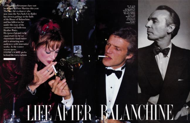 Article Preview: LIFE AFTER BALANCHINE, December 1988 | Vanity Fair