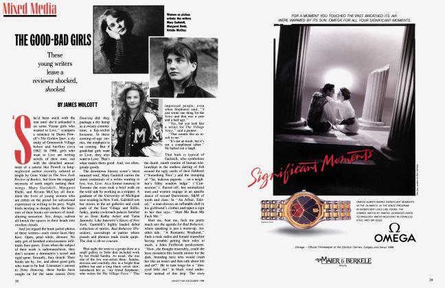 Article Preview: THE GOOD-BAD GIRLS, December 1988 | Vanity Fair