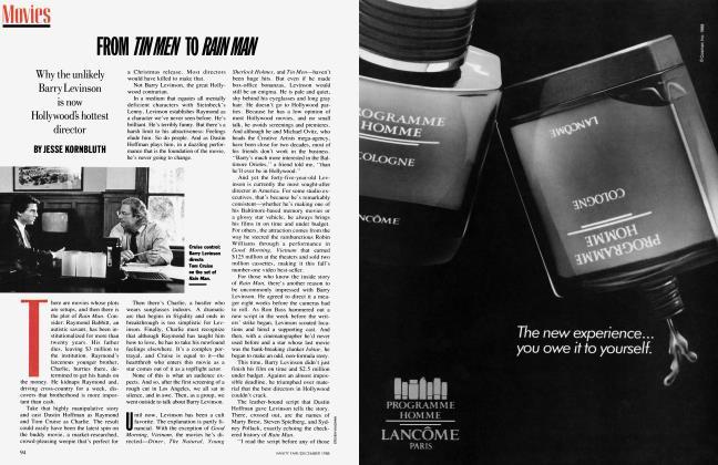 Article Preview: FROM TIN MEN TO RAIN MAN, December 1988 1988 | Vanity Fair