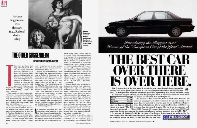 Article Preview: THE OTHER GUGGENHEIM, December 1988 1988 | Vanity Fair