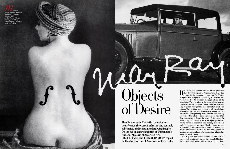 Man Ray Objects of Desire