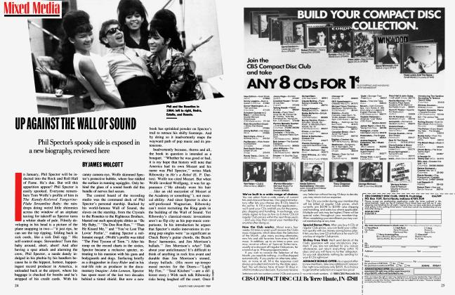 Article Preview: UP AGAINST THE WALL OF SOUND, January 1989 1989 | Vanity Fair