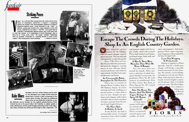 Article Preview: Striking Poses, January 1989 1989 | Vanity Fair
