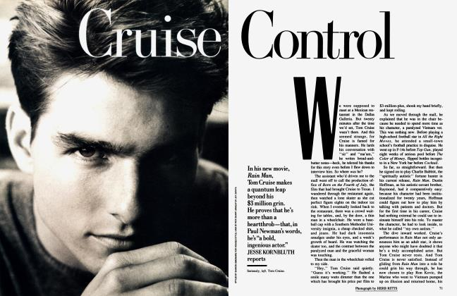 Article Preview: Cruise Control, January 1989 1989 | Vanity Fair