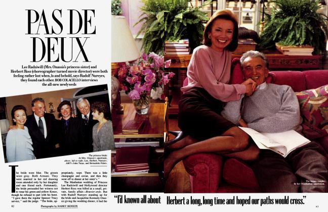 Article Preview: PAS DE DEUX, January 1989 | Vanity Fair