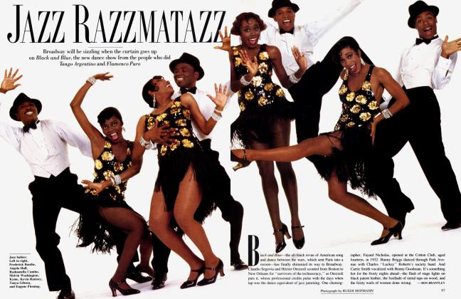 Article Preview: JAZZ RAZZMATAZZ, January 1989 1989 | Vanity Fair