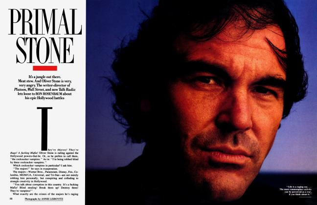 Article Preview: PRIMAL STONE, January 1989 | Vanity Fair