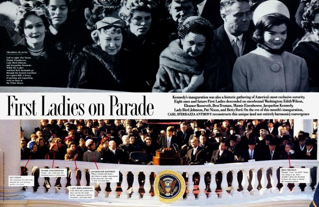 Article Preview: First Ladies on Parade, January 1989 | Vanity Fair