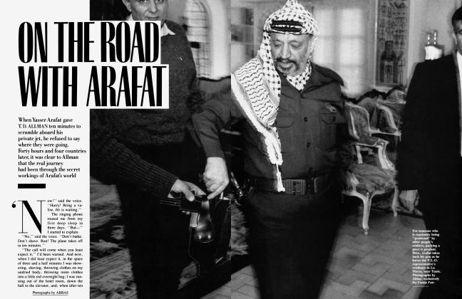 ON THE ROAD WITH ARAFAT