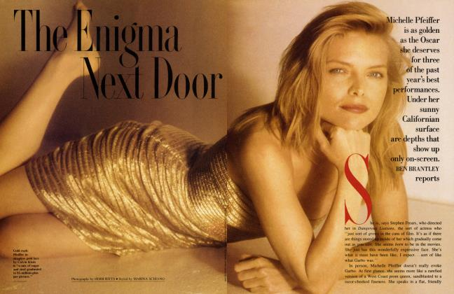 Article Preview: The Enigma Next Door, February 1989 1989 | Vanity Fair