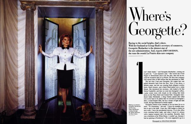Article Preview: Where's Georgette?, February 1989 1989 | Vanity Fair
