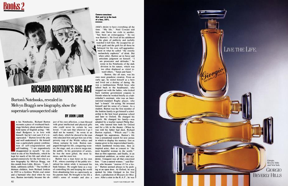 RICHARD BURTON'S BIG ACT