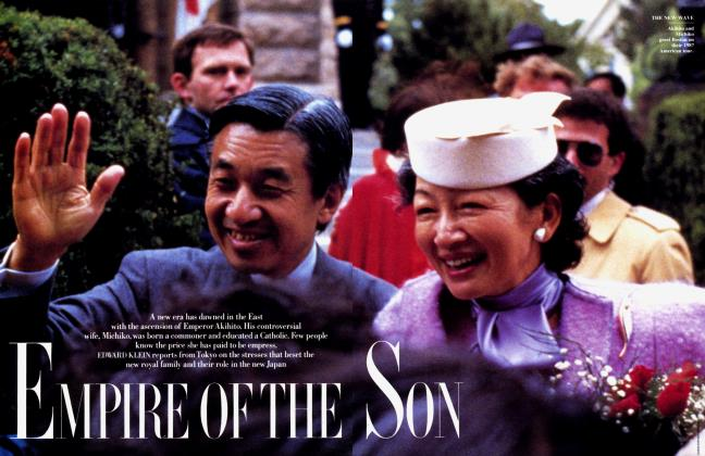 Article Preview: EMPIRE OF THE SON, March 1989 | Vanity Fair
