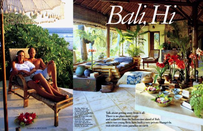 Article Preview: Bali, Hi, March 1989 1989   Vanity Fair