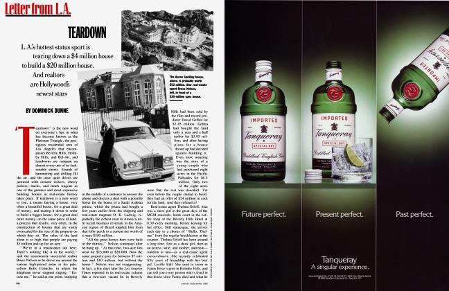 Article Preview: TEARDOWN, April 1989   Vanity Fair
