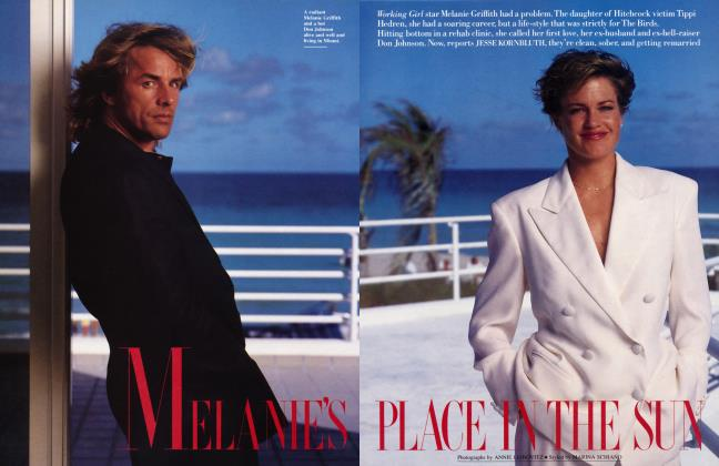Article Preview: MELANIE'S PLACE IN THE SUN, April 1989 1989 | Vanity Fair