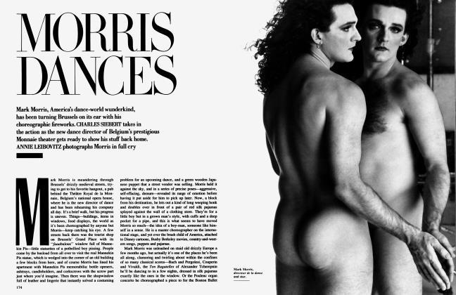 Article Preview: MORRIS DANCES, April 1989   Vanity Fair