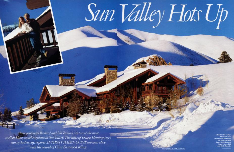 Sun Valley Hots Up