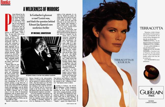 Article Preview: A WILDERNESS OF MIRRORS, May 1989 1989 | Vanity Fair