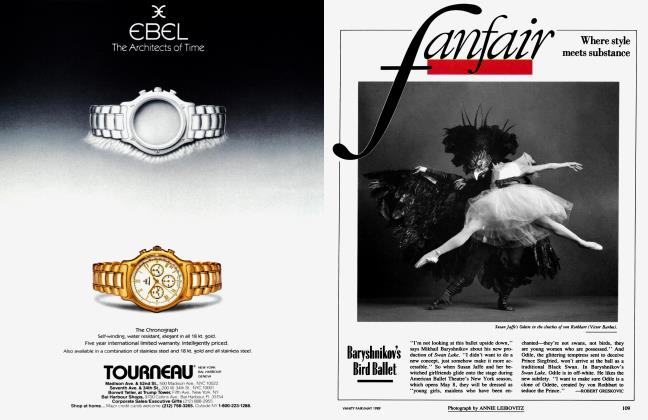 Article Preview: Baryshnikov's Bird Ballet, May 1989 1989 | Vanity Fair