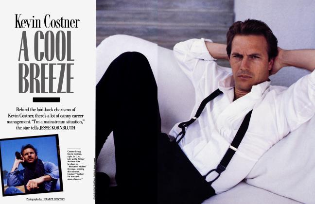Article Preview: Kevin Costner A COOL BREEZE, May 1989 | Vanity Fair