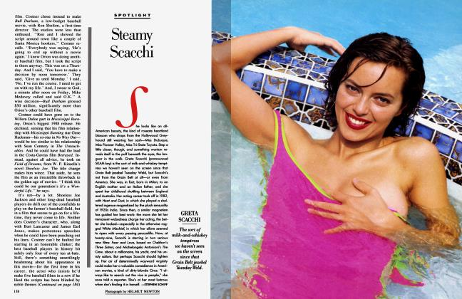 Article Preview: Steamy Scacchi, May 1989 1989 | Vanity Fair