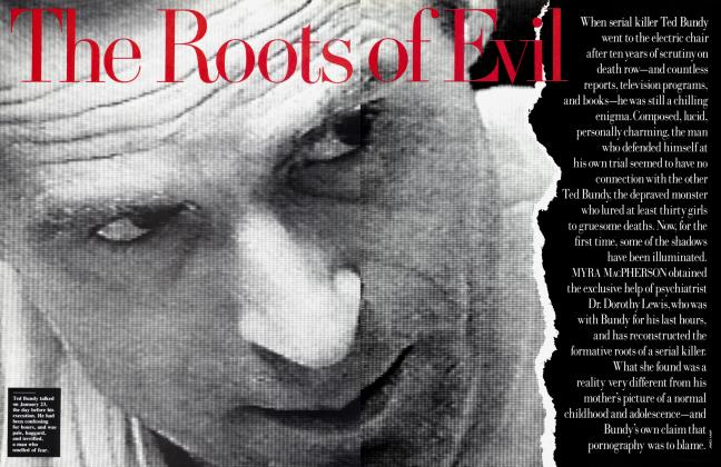 Article Preview: The Roots of Evil, May 1989 | Vanity Fair