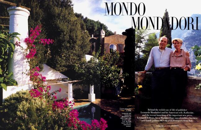 Article Preview: MONDO MOND DORI, May 1989 | Vanity Fair