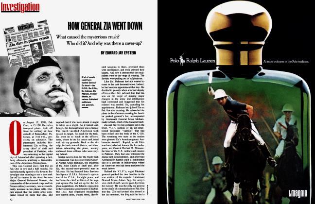 Article Preview: HOW GENERAL ZIA WENT DOWN, June 1989 | Vanity Fair