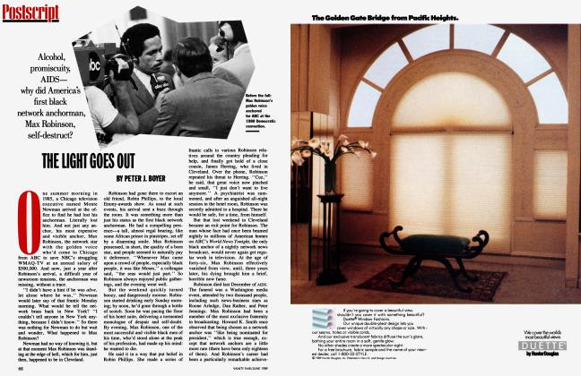 Article Preview: THE LIGHT GOES OUT, June 1989 1989 | Vanity Fair