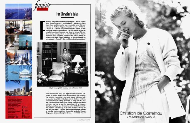 Article Preview: For Chrysler's Sake, June 1989 1989   Vanity Fair