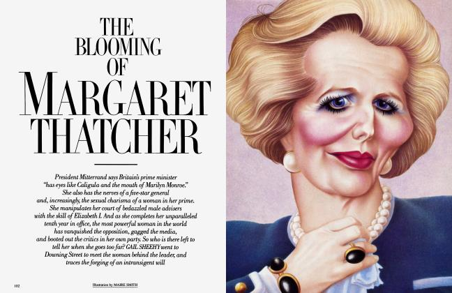 THE BLOOMING OF MARGARET THATCHER