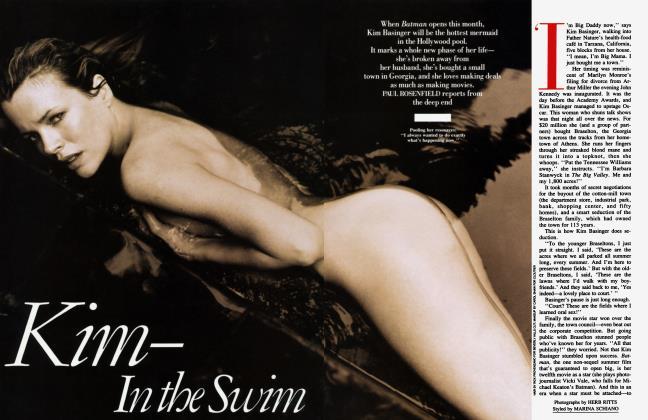 Article Preview: Kim—In the Swim, June 1989 1989 | Vanity Fair