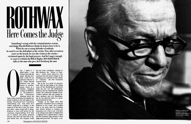 Article Preview: ROTHWAX Here Comes the Judge, June 1989 | Vanity Fair