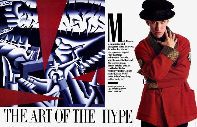 Article Preview: THE ART OF THE HYPE, June 1989 1989 | Vanity Fair