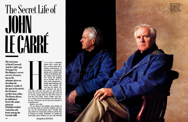 Article Preview: The Secret Life of JOHN LE CARRÉ, June 1989 | Vanity Fair