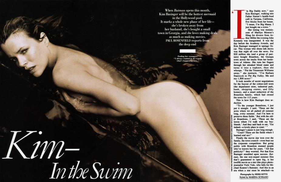 Kim—In the Swim