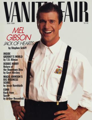 Cover for the July 1989 issue