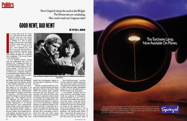 Article Preview: GOOD NEWT, BAD NEWT, July 1989 1989 | Vanity Fair