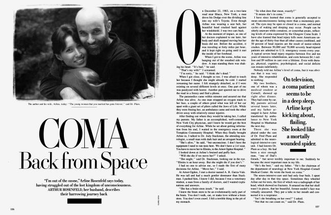 Article Preview: COMA Back from Space, July 1989 | Vanity Fair