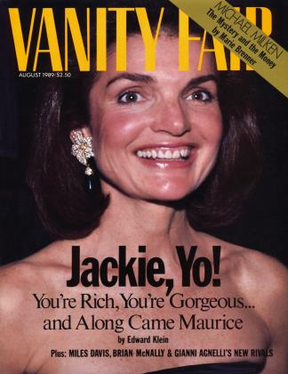 Cover for the August 1989 issue